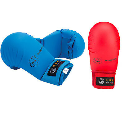 Wkf Karate Mitt - Tokaido Karate WKF Approved Gloves Mitts