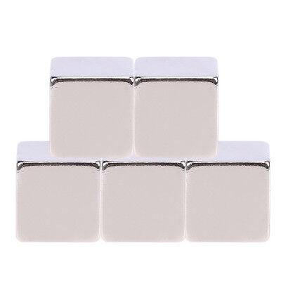 100pcs N52 Large Strong Block Square Cube Rare Earth Neodymium Magnets 9x9x9mm