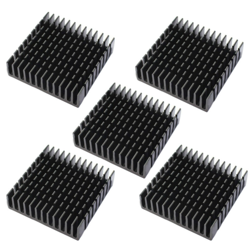 5pcs 40x40x11mm anodized aluminium heatsink thermal pads