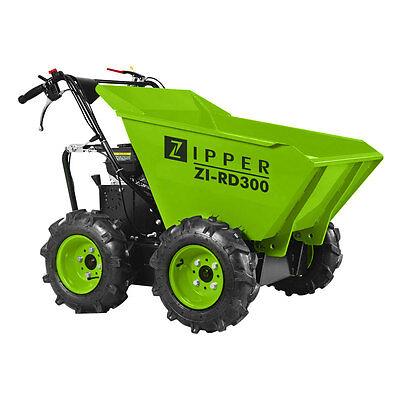 ZIPPER Raddumper Minidumper Dumper Motorschubkarre Muldenkipper RD 300