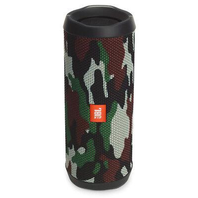 JBL Flip 4 Portable Waterproof Bluetooth Speaker (Camouflage)