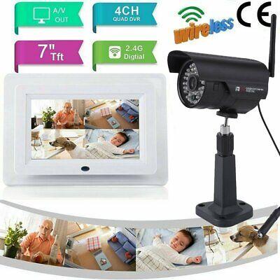 Home Security-ip-kamera (Home Security IP Kamerasystem für den Außenbereich mit 1 Cam HD 7