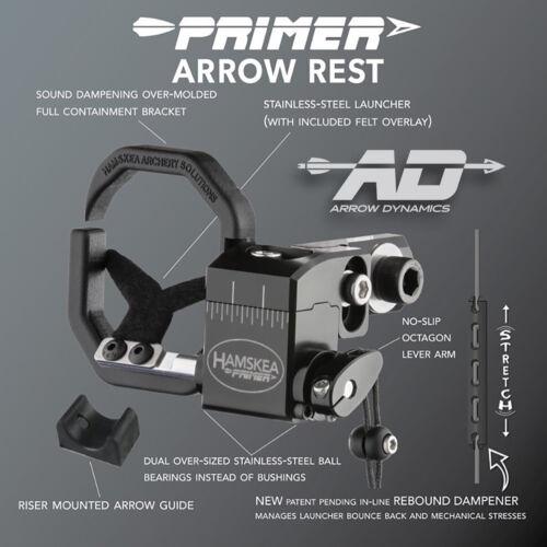 NEW Hamskea PRIMER v2™ ARROW REST - R/H & L/H