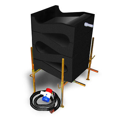 Gold Cube 4 Stack Recovery System Complete Kit - Gold Prospecting - Gold Mining