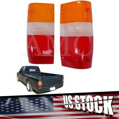 For Mitsubishi 87-92 Pickup Mighty Max Dodge D50 Standard Rear Tail Light Lens Dodge D50 Tail Light
