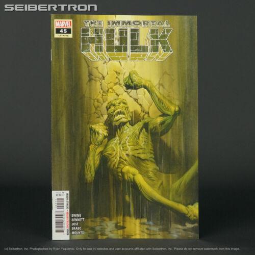 IMMORTAL HULK #45 Marvel Comics 2021 FEB210613 (CA) Ross (W) Ewing
