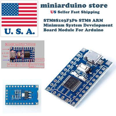 Stm8s103f3p6 Arm Stm8 Minimum System Development Board Module For Arduino Usa