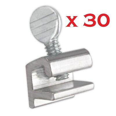 30x Sliding Window Locks Easy Installation High Security Home Lock Thumbscrews