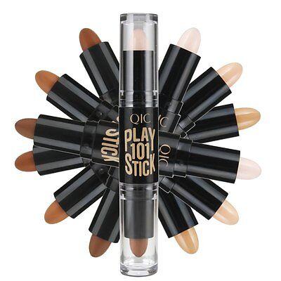 Highlight & Contour Stick Beauty Makeup Face Powder Cream Shimmer Concealer Pen