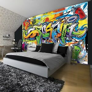 graffiti tapeten g nstig online kaufen bei ebay. Black Bedroom Furniture Sets. Home Design Ideas