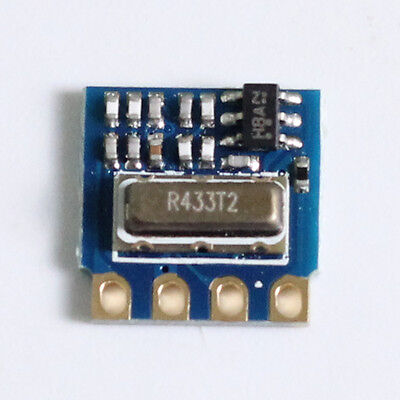 H34a-433 433mhz Mini Rf Wireless Transmitter Module Remote Control Ask 2.6-12v