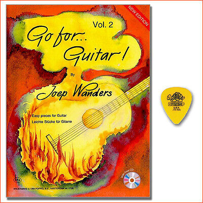 Go for Guitar 2 - Joep Wanders - CD, Dunlop Plektrum - BVP1728 - 9990051644968