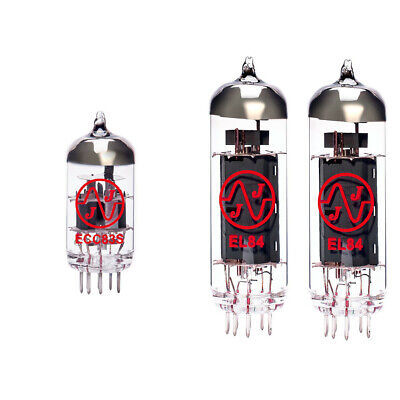 Replacement Valve Kit for ENGL Gigmaster 15 E315 Head (1 x ECC83 2 x Matched ...