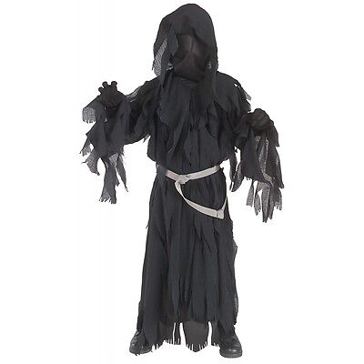 Ringwraith Costume Kids Lord of The Rings Nazgul Halloween Fancy Dress (Lord Of The Rings Nazgul Costume)