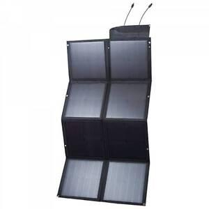 12V 120W Black Silicon Solar Panel Foldable Generator Power Mono Wangara Wanneroo Area Preview