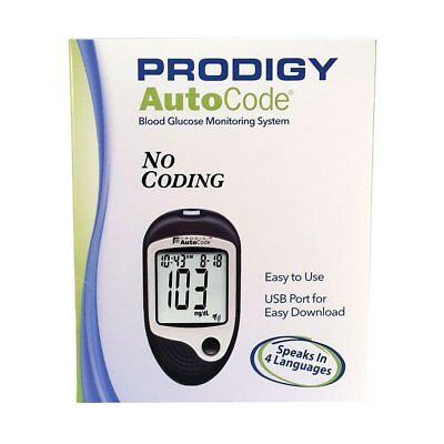 Prodigy Auto Code Talking Blood Glucose Meter