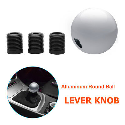 Universal Car Aluminum Manual MT Gear Stick Shift Shifter Lever Knob Round Ball