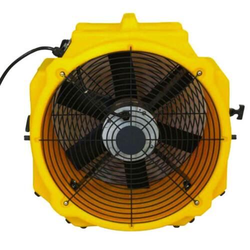 Zoom AX-25 Ventilation Fan 1/4 HP Utility Exhaust Portable Air Blower 3900 CFM