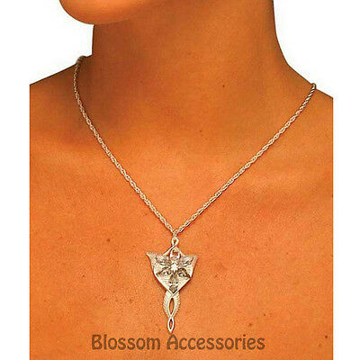 A547 Arwen Necklace Lord of the Rings LOTR Costume Halloween Accessory Arwen Necklace Costume Accessory