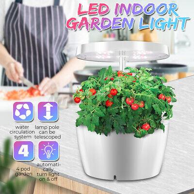 UK 25W Smart Herb Garden LED Light Indoor Hydroponics Grow Light Plants Kit Lamp
