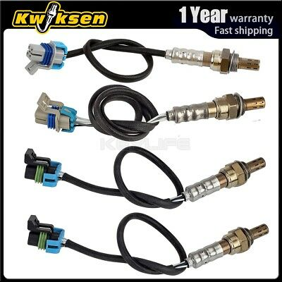 4xUp+Downstream Oxygen Sensor 1 Sensor 2 for 2004 Chevy Silverado 2500HD 6.0 Gas