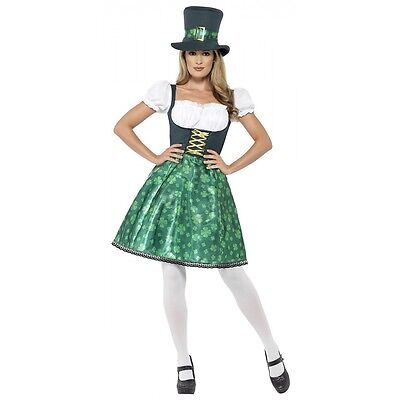 Leprechaun Lass Costume St. Patrick's Day Fancy Dress - St Patrick's Day Dress