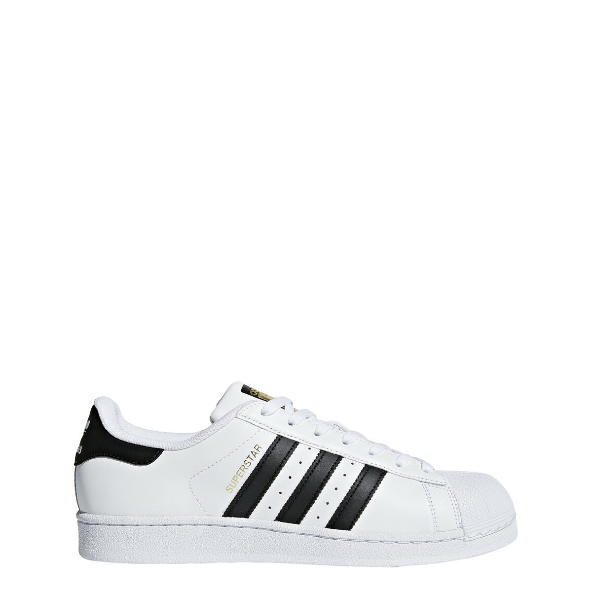 adidas Originals Men's Superstar Foundation Sneaker, White/Core Black C77124