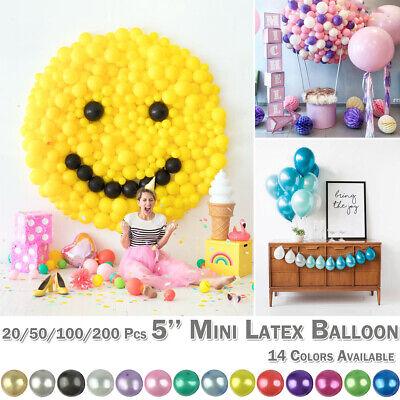 5 Inch Latex Balloons Multi-color Mini Balloon Home Wedding Party Festival Decor - Mini Latex Balloons