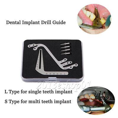 Dental Implant Surgical Drill Guide Locator Instruments Set Calipers Bone Ridge
