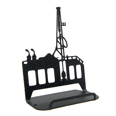 Oil Rig Black Metal Business Card Holder