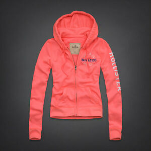 2013 Spring Women Hollister Hoodie Sweatshirt Jacket Shirt ...