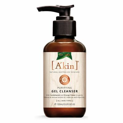 A'kin Purifying Gel Cleanser for Normal Combination & Oily Skin - 150ml