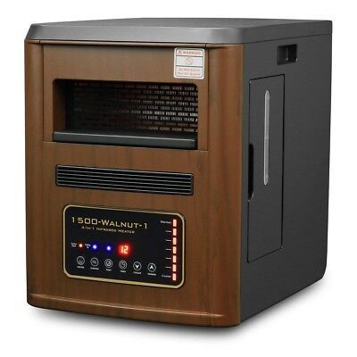 4 in1 1500W watt Quartz Infrared Heater Humidifier Plasma In
