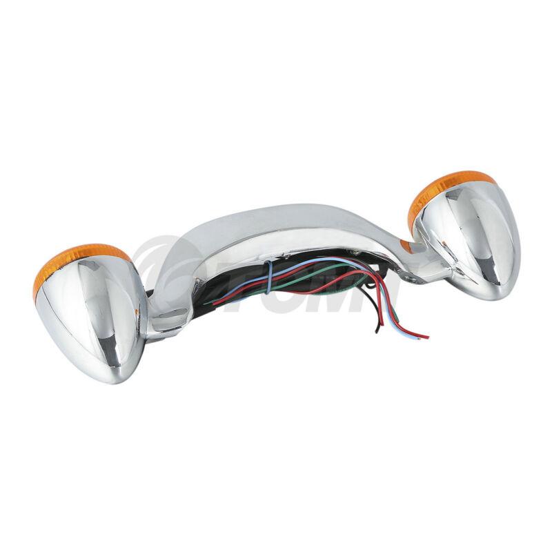 bullet rear brake led light bar turn signal for harley. Black Bedroom Furniture Sets. Home Design Ideas