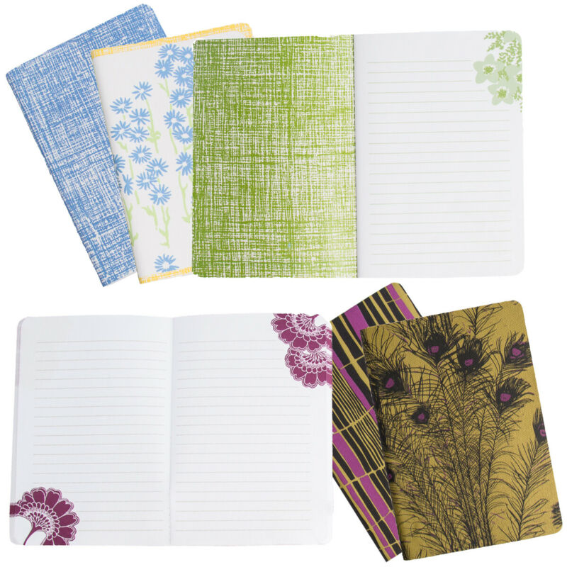 3pk Pocket Journals Lined Pages 4x6 Small Notebooks Florence Broadhurst Florals