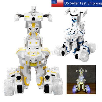 Remote Control Robot For Kids (Smart Robot Toys Remote Control Transform Robot Xmas Gift for Kids' 'Boys)