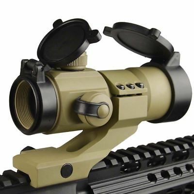 Field Sport 1X30 Cantilever Mount Red Blue And Green Micro Dot Sight Dark Earth