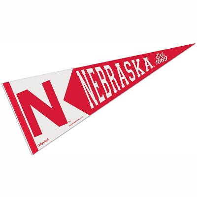 University of Nebraska Vault, Retro and Vintage Logo Pennant
