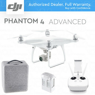 Dji Phantom 4 Advanced Drone With Gimbal Camera With 1  Cmos Sensor  4K 60Fps