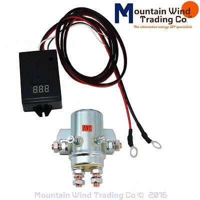10,000 watt 440 AMP charge controller 24 volt wind turbine solar NO BACK PLATE
