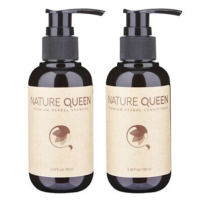 Set of Organic Shampoo and Conditioner (100ml x 2) - Nature Queen - Best
