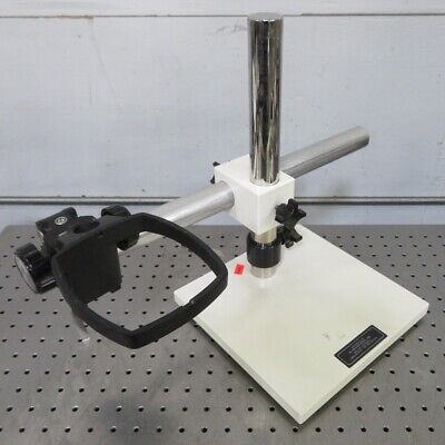 C164503 Boom Stand W E-arm For Bausch Lomb Stereozoom Sz4 Sz5 Sz7 Microscope