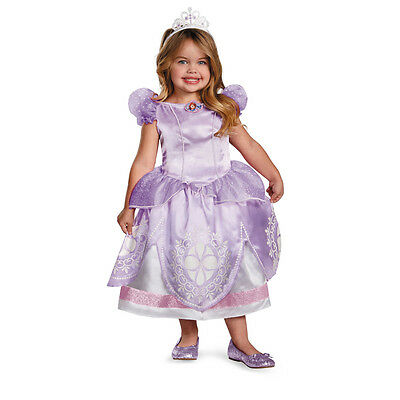 Sofia the First Princess Deluxe Disney Child Toddler Costume Disguise 56722 - Sofia The First Toddler Costume