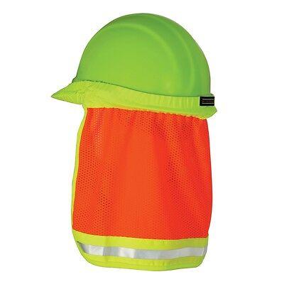 Ml Kishigo Reflective Hard Hat Sun Shade Neck Shield Orange