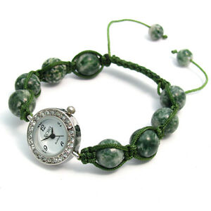 ECHO-Beautiful-Semi-precious-Shamballa-Style-Watch-and-Bracelet-Set-no-3