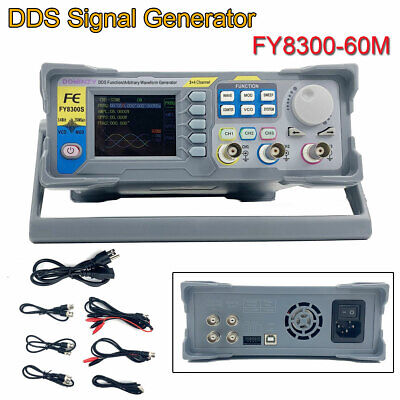 Fy8300-60m Dds Signal Generator Frequence Functions Arbitrary Waveform 3-channel