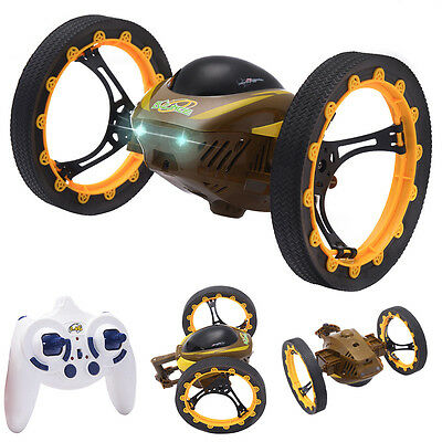 2.4GHz 4CH RC Bounce Car Remote Control Jumping Stunter 360° Spin Kids Gift New