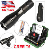 LED Flashlight G700 X800 Shadowhawk CREE T6 Tactical Lights Torch 18650 Battery