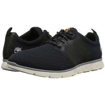 Mens Timberland Oxford Shoes Killington Black Full Grain Leather Mesh Boots - Timberland Oxford Shoe
