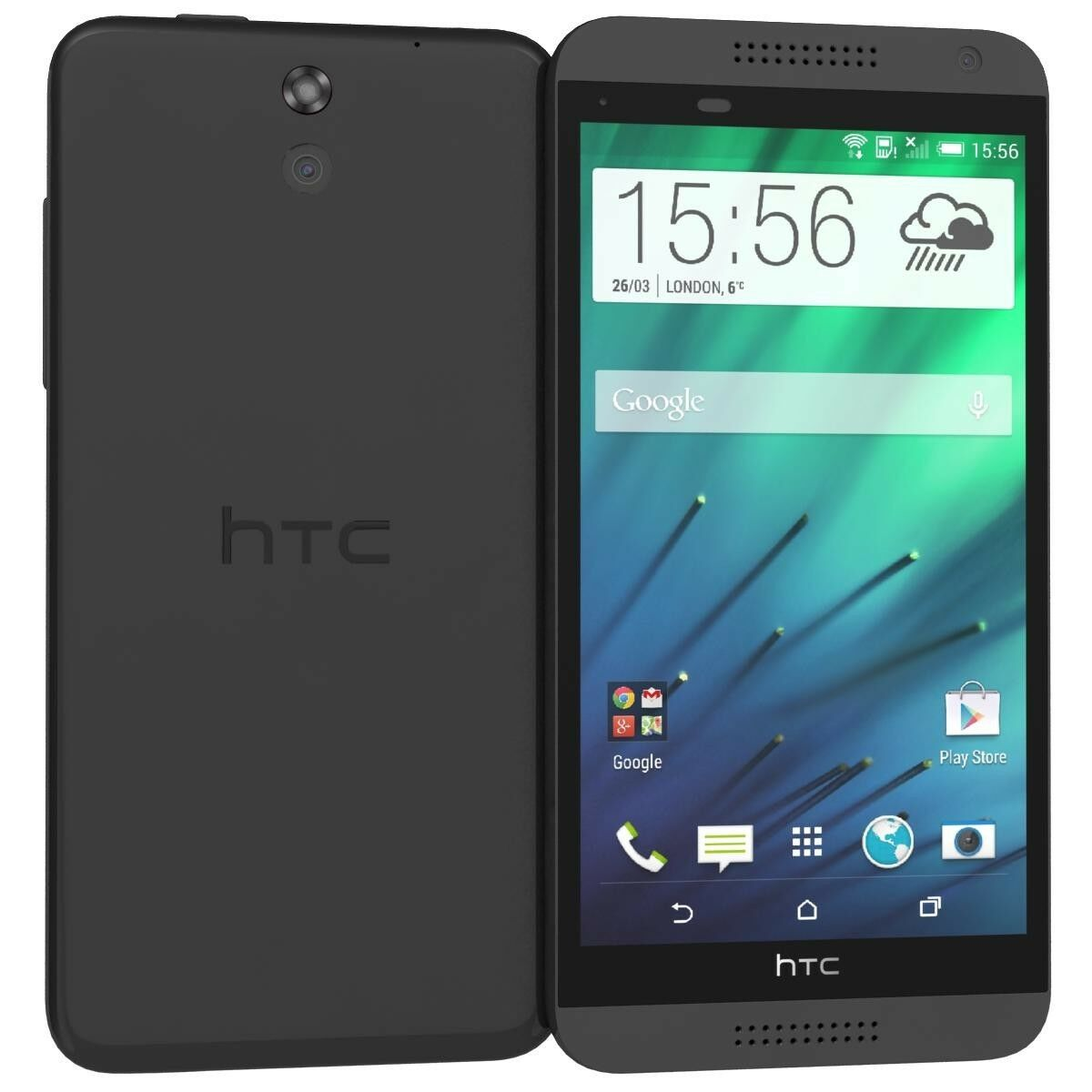 $74.99 - HTC Desire 610 8GB Black AT&T Unlocked Any GSM 4G LTE Android Smartphone ****